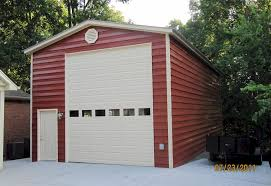 12x14 garage doorClient Egles Mighty Steel RV Garage