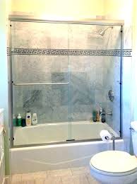 cost of glass shower door post cost of frameless glass