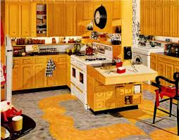 Yellow Kitchen Floor Contrast And Yellow Kitchen Cabinet Latest Kitchen Ideas