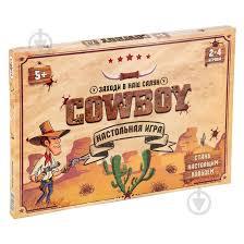 ᐉ <b>Игра настольная Strateg Cowboy</b> 30314 • Купить в Киеве ...