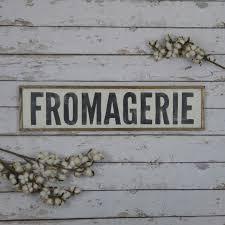 Fromagerie Zeichen Bauernhausdekor Bauernküche Bauernhaus