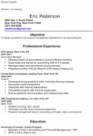 Free Accounting Student Resume Sample Docpdf 1 Pages Accounting Student  Resume