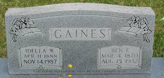 Idella Willard Gaines (1888-1987) - Find A Grave Memorial