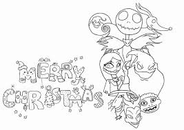 Free Printable Nightmare Before Christmas Coloring Pages At Jack