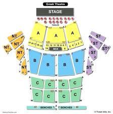 Greek Theater Berkeley Seating Chart Luxury 15 Greek Theatre