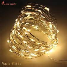 Dây đèn LED sợi đồng dùng cho trang trí ngoài trời