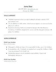 Objective For A Nanny Resume Resume For Nanny Nanny Resume Sample Templates Nanny Resume 52