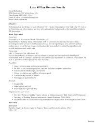 Mortgage Loan Officer Resume Loan Originator Srhnf Info