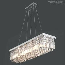 the gallery crystal chandelier photo of rectangle viewing photos modern rectangular chandeliers pendant light inside previous