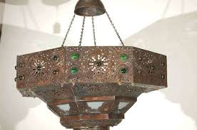 large antique chandelier in good condition for ca turkish mosaic india earrings marvellous home improvement