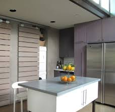 Eleven Contemporary Kitchen Fruit Holder Kitchen Contemporary With Sliding Wood Slat Doors