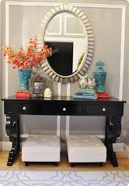 Entryway Table Ideas Outstanding How To Decorate Entryway Table 74 In Room  Decorating