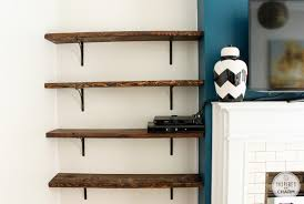 ... Wall Mount Book Shelf Home Decor Mounted Wooden Ideas Rectangular With  Iron Cantilever L Shape Simple ...