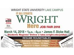 students planning to attend the march 14 job fair should plan to attend a resume roundtable