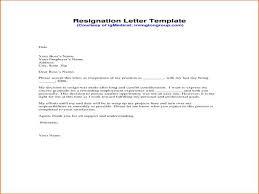 One Week Notice Letter Unique Resignation Letter Sample Pdf