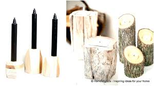Long Wooden Candle Holders Votive Wood Holder. Wood Log Candle Holders Long  Holder Wooden Votive. Long Wooden Candle ...