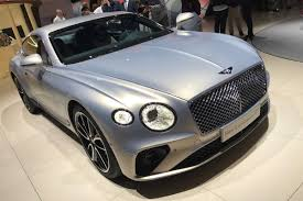 2018 bentley coupe. modren bentley new 2018 bentley continental gt goes on display in frankfurt  auto express inside bentley coupe