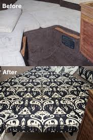 before after v berth keystone cushion