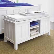 White Storage Bench With Cushion Picture Ideas Best 8 White White