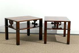 henredon coffee table fabulous pair of heritage end table night stands in flame mahogany heritage henredon henredon coffee table