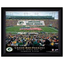 personalized nfl stadium prints green bay packers