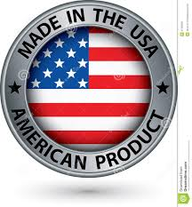 How Do I Get A Product Made Made In The Usa American Product Silver Label With Flag Vector
