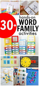Activities Word 30 Fun Word Family Activities Games Blogger Educational Ideas