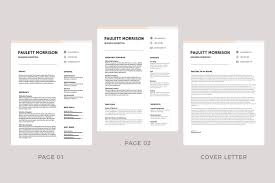 Modern Elegant Font For Resume 75 Best Free Resume Templates Of 2019