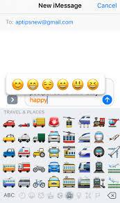 Samsung To Iphone Emoji Chart 2018 Iphone Predictive Text Emoji Not Working How To Fix