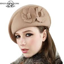 <b>BINGYUANHAOXUAN</b> 2018 Wool <b>Beret</b> Winter <b>Berets</b> Fashion ...