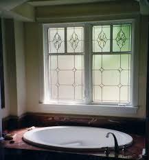 denver stained glass bathroom windows