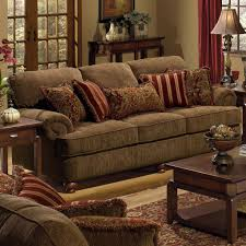 Big Couch Pillows.big Sofa Stock Photo. Idea For The Reading Nook Inside Red