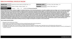Personnel Specialist Job Description Navy Personnel Specialist Resume Luxury Personnel Specialist Resume