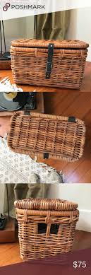 Best 25+ Wicker storage baskets ideas on Pinterest | Ikea, Makeup ...
