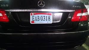This was the vanity plate the owner came up with for his wife while they were engaged. Vanity License Plates The Auto Blonde