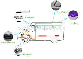 air conditioning unit for car. kt-12 12v/24 volt roof mounted 12kw van air conditioning /conditioner unit for car