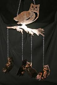 new mexico home decor: owl wind chimes windchimesowl owl wind chimes