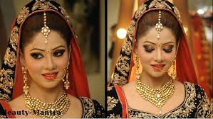 indian wedding makeup for a beautiful bride you best solutions of bridal makeup and hairstyle video