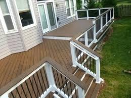 composite deck ideas. Brilliant Ideas Trex Decking Prices Best Ideas On Rail Outdoor Composite  At Lowes With Composite Deck Ideas A
