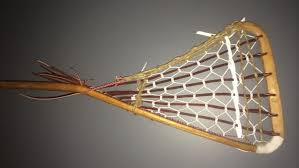 old wooden goalie stick traditional thursday