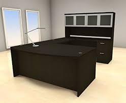 modern executive office desks.  Modern 5pc U Shape Modern Executive Office Desk Set CHAMBU68 Intended Desks V