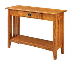 craftsman desk plans mission hall table by keystone hall console tables and consoles