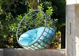 outdoor hanging furniture. Outdoor Hanging Chairs Noble Orange Puff Chair Furniture Images Unusual Pods