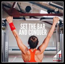 Photo of the day. SET THE BAR AND CONQUER . . . . . . . #socialenvy  #inspiration #quote… | Workout motivation women, Fitness instagram  accounts, Fitness motivation