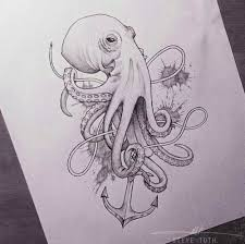 Small Picture octopus artwork Tumblr