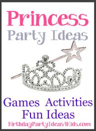 Princess Birthday Theme Birthday Party Ideas For Kids