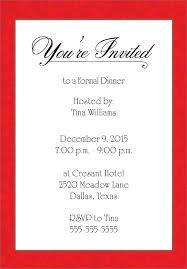 Free Holiday Party Templates Dinner Party Flyer Template Free Holiday Invitation