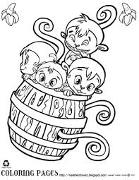 Small Picture cute monkey coloring pages page 1 Cute Monkey Coloring Pages N