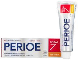 <b>Зубная паста Perioe Total</b> 7 Sensitive Комплексный уход — купить ...