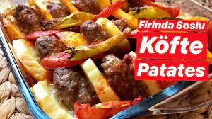 Fırında Köfte Patates Tarifi - LaflioLaflio